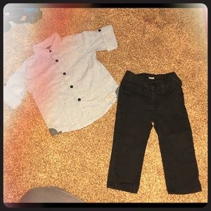 Hudson Jeans shirt and pants